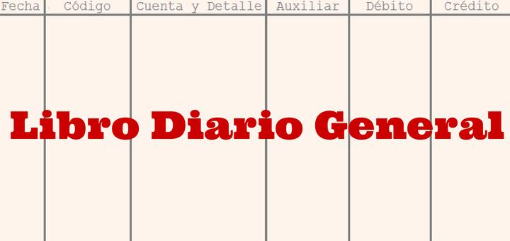 Libro Diario General